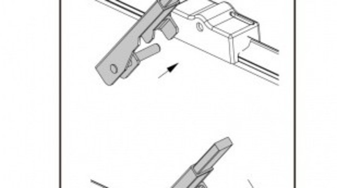 Stergator parbriz sofer MERCEDES-BENZ S-CLASS 03/1999➝ COD:ART33 27 VistaCar