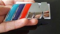 Sticker/ logo/ emblema M POWER BMW pentru portbaga...