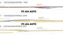STICKERE AUTO NISSAN PATROL Y61 1998-2009