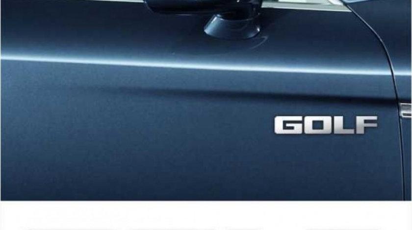 Stickere laterale CHROME - GOLF (set 2 buc.) Modern Tuning