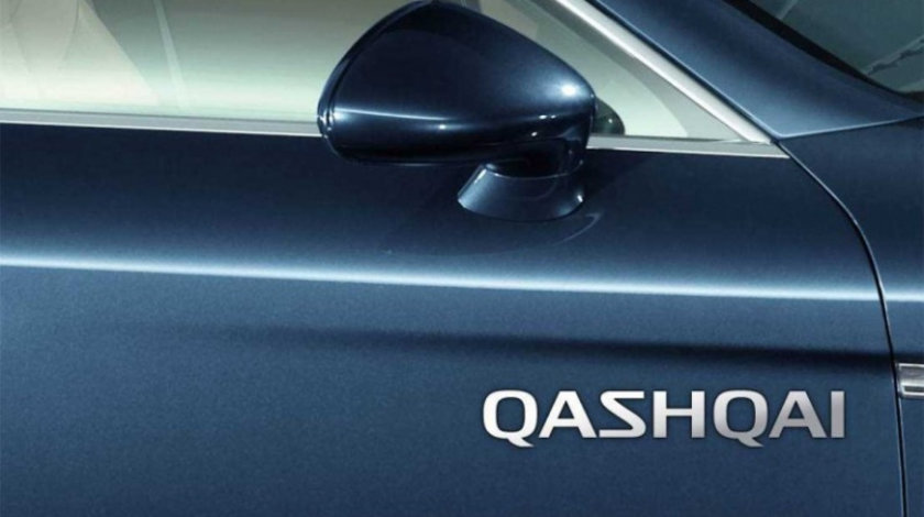Stickere laterale CHROME - QASHQAI (set 2 buc.) Modern Tuning
