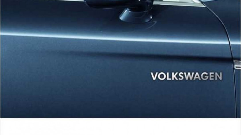 Stickere laterale CHROME - VOLKSWAGEN (set 2 buc.) Modern Tuning