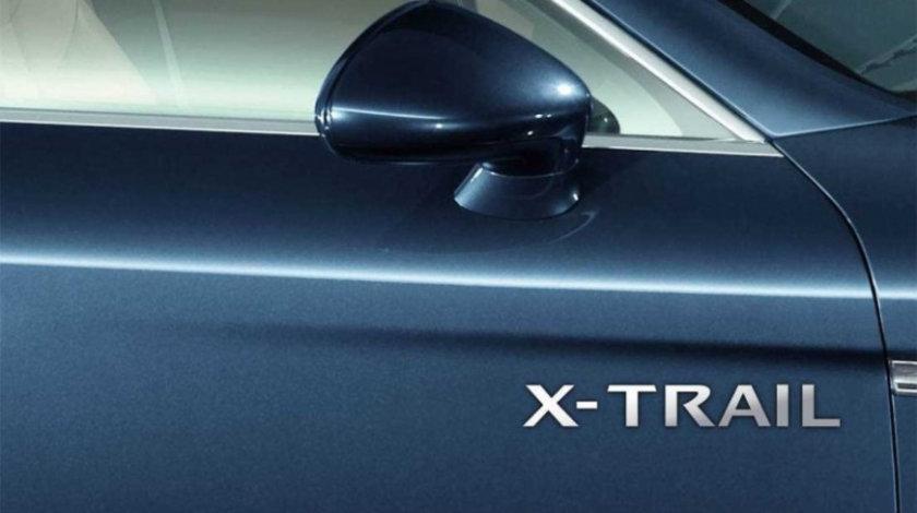 Stickere laterale CHROME - X-TRAIL (set 2 buc.) Modern Tuning