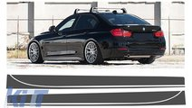 Stickere Laterale Gri Inchis BMW Seria 3 F30 F31 (...
