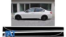Stickere Laterale Negru Mat compatibil cu BMW Seri...