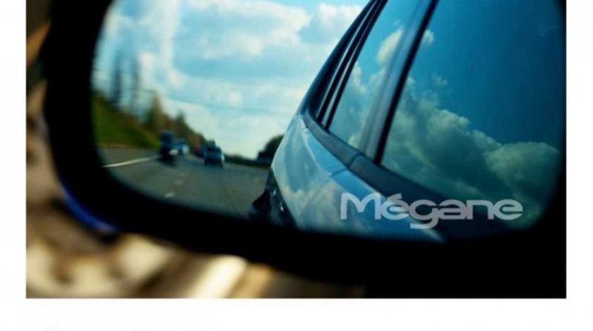 Stickere oglinda ETCHED GLASS - MEGANE (set 3 buc.) Modern Tuning