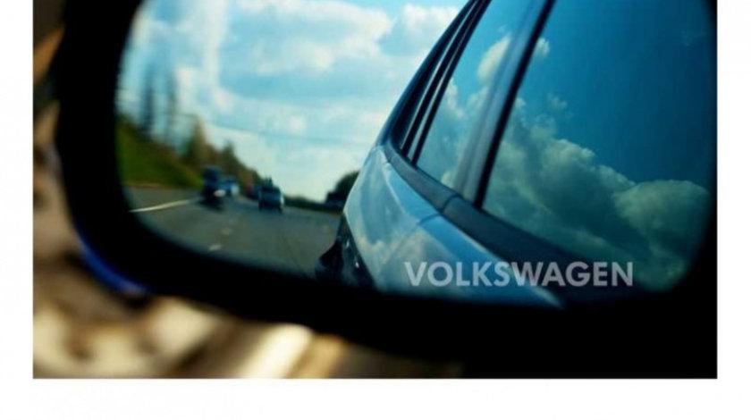 Stickere oglinda ETCHED GLASS - VOLKSWAGEN (set 3 buc.) Modern Tuning
