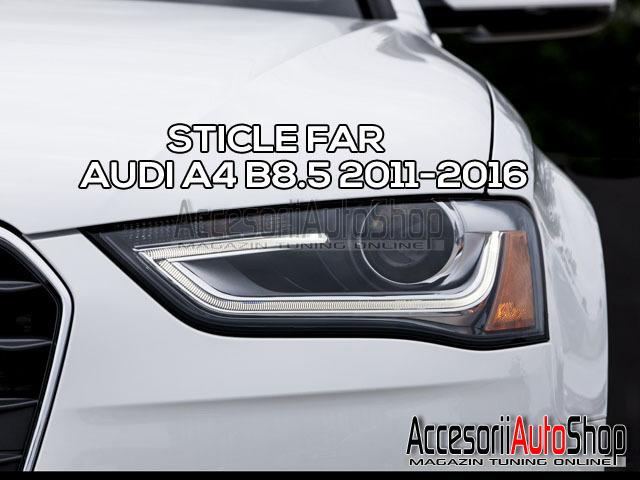 Sticla far AUDI A4 B8.5 2011-2016