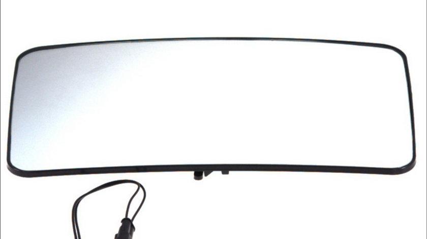 Sticla oglinda 24V incalzita stanga IVECO Euro / 340x200mm