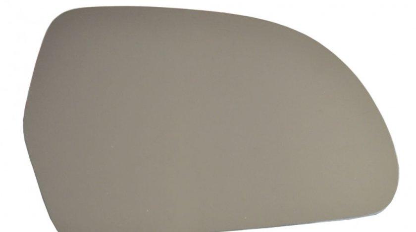 Sticla oglinda Audi A3 (8P) 04.2008-2010, A4 B8 2007-2010, A5 2007-2010, A6 C6 2008-, A8 2011-, Q3 2011-2015, Skoda Octavia 2 2008-2013, Superb 2008- partea dreapta View Max Crom Convexa Cu incalzire