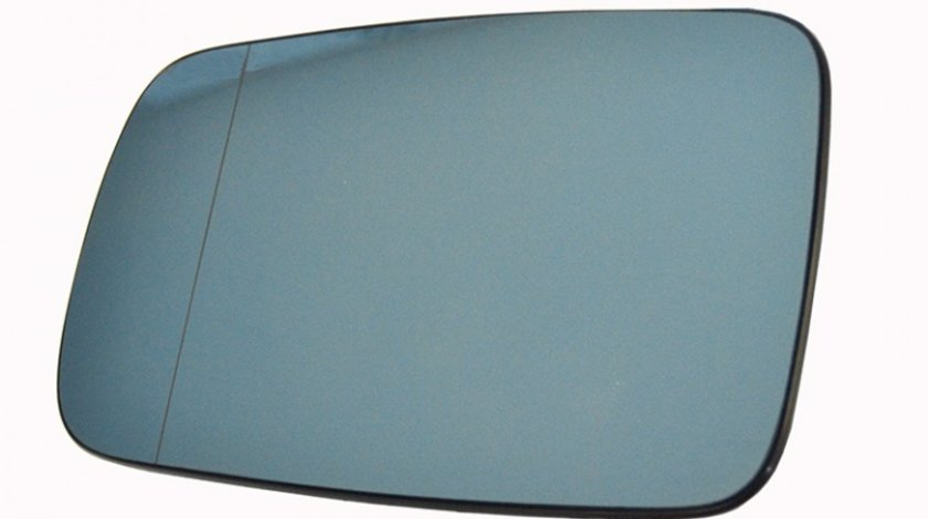 Sticla oglinda Bmw Seria 3 (E46) Coupe/Cabrio 05.1999-2006 Seria 7 (E65/E66) 2001-2008 partea dreapta Best Auto Vest Albastra Asferica Cu incalzire