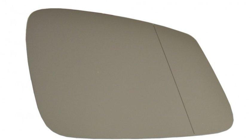 Sticla oglinda Bmw Seria 5 (F10/F11) 12.2009- , Seria 6 (F12/F13), 02.11- , Seria 7 (F01/F02) 10.2008- , partea dreapta Best Auto Vest Crom Asferica Cu incalzire