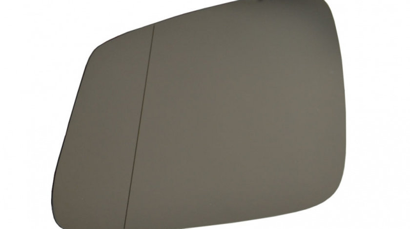 Sticla oglinda Bmw Seria 7 (F01/F02) 10.2008- , Seria 5 F10/F11, GT F07 , Seria 6 F12/F13 2011- partea stanga Best Auto Vest Crom Cu incalzire 51167186587