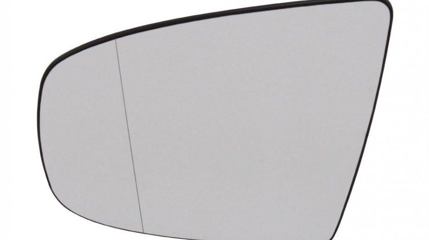 Sticla oglinda Bmw X5 (E70) 10.2006-11.2013 si X6 2010-12.2013, cu 2pini partea stanga View Max Crom Asferica Cu incalzire