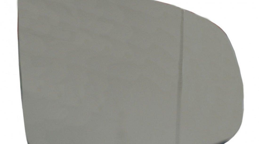 Sticla oglinda Bmw X5 (E70) 10.2006-11.2013 si X6 2010-12.2013, cu 2pini, partea dreapta View Max Crom Asferica Cu incalzire