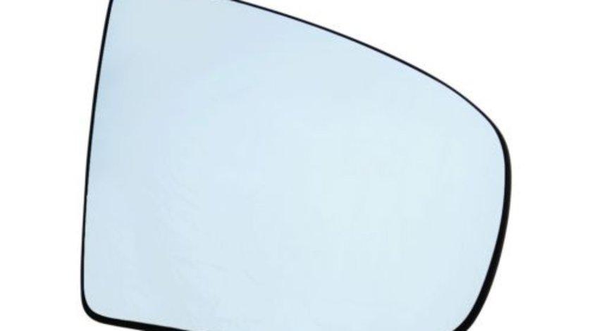 Sticla oglinda Bmw X5 (E70) 10.2006-2013 X6 E71 2008-2014 partea dreapta Best Auto Vest Albastra Asferica Electrica
