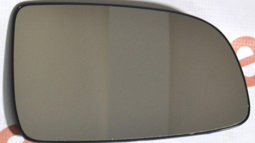 Sticla oglinda Chevrolet Aveo Sedan (T250) 03.2006-05.2011, Aveo T255 04.2008-05.2011 partea dreapta Best Auto Vest crom convex cu incalzire