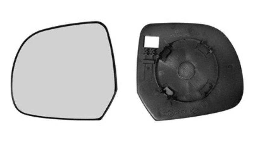 Sticla oglinda Dacia Dokker 11.2012-, Duster 01.2010-2012, Lodgy 19.2012, Renault Leaf 12.10-12.12, sticla oglinda fara incalzire convexa Dreapta 963657229R
