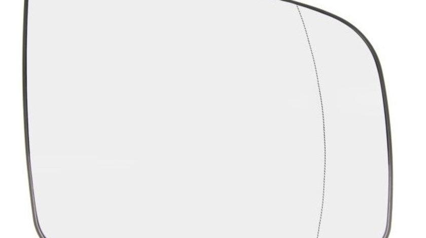 Sticla Oglinda Dreapta Tyc Mercedes-Benz Viano W639 2010-2014 321-0123-1