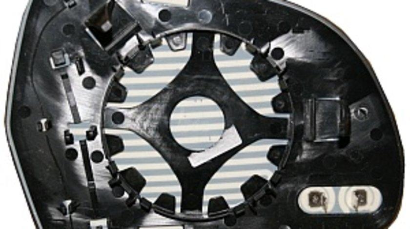 Sticla oglinda incalzita stanga Audi A6 2008-2010