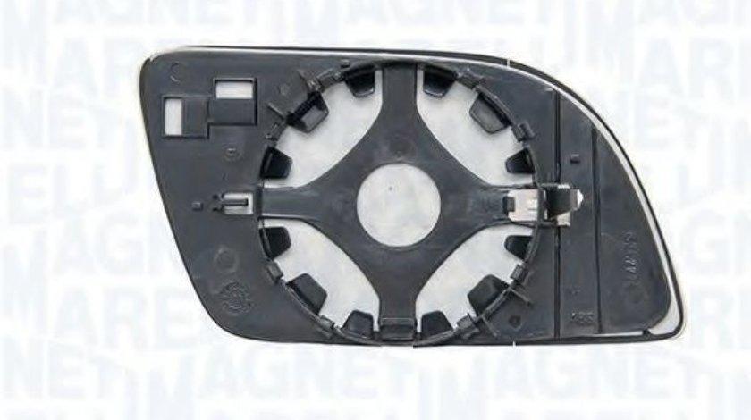 Sticla oglinda, oglinda retrovizoare exterioara VW POLO (9N) (2001 - 2012) MAGNETI MARELLI 351991305860 produs NOU