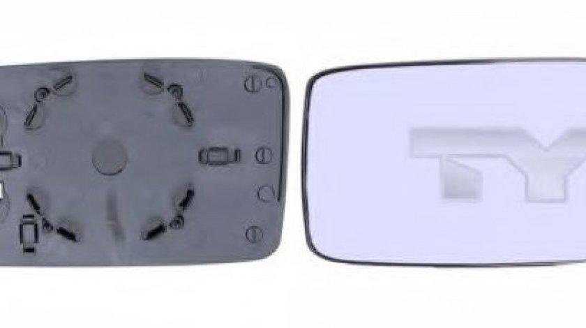 Sticla oglinda, oglinda retrovizoare exterioara VW GOLF III Variant (1H5) (1993 - 1999) TYC 337-0003-1 piesa NOUA