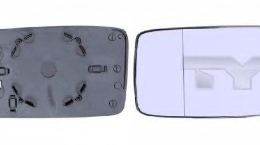 Sticla oglinda, oglinda retrovizoare exterioara VW VENTO (1H2) (1991 - 1998) TYC 331-0004-1 produs NOU