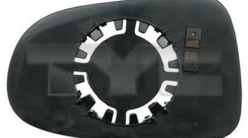 Sticla oglinda, oglinda retrovizoare exterioara VW SHARAN (7M8, 7M9, 7M6) (1995 - 2010) TYC 310-0159-1 piesa NOUA