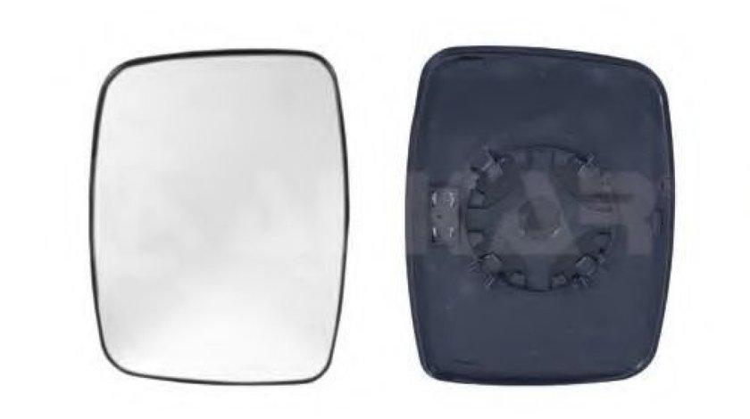 Sticla oglinda, oglinda retrovizoare exterioara MERCEDES VITO caroserie (638) (1997 - 2003) ALKAR 6443969 piesa NOUA