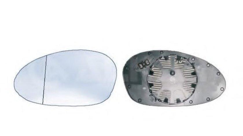 Sticla oglinda, oglinda retrovizoare exterioara BMW Seria 1 Cupe (E82) (2007 - 2013) ALKAR 6413843 piesa NOUA