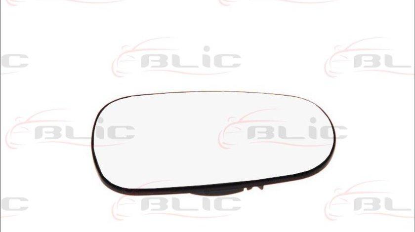 Sticla oglinda oglinda retrovizoare exterioara NISSAN MICRA III K12 Producator BLIC 6102-02-1233528P