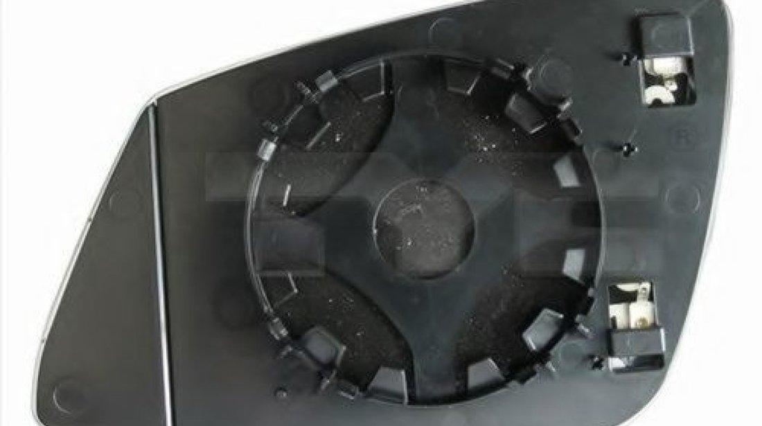 Sticla oglinda, oglinda retrovizoare exterioara BMW Seria 5 (F10, F18) (2009 - 2016) TYC 303-0121-1 piesa NOUA
