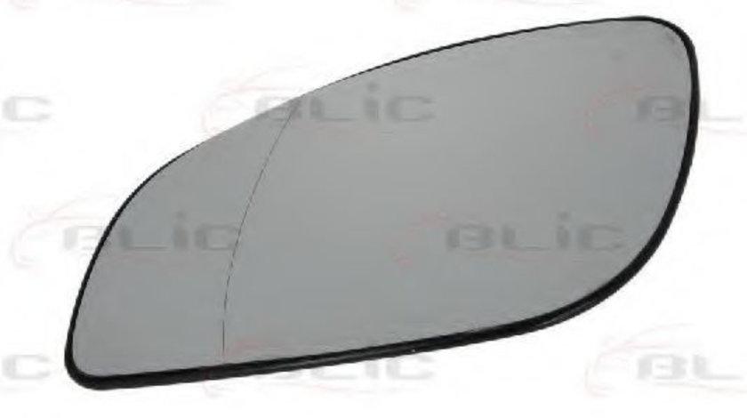 Sticla oglinda, oglinda retrovizoare exterioara OPEL VECTRA C Combi (2003 - 2016) BLIC 6102-02-1251221P piesa NOUA