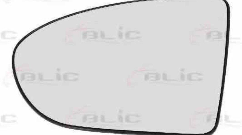 Sticla oglinda oglinda retrovizoare exterioara NISSAN QASHQAI / QASHQAI +2 J10 JJ10 Producator BLIC 6102-02-1231517P