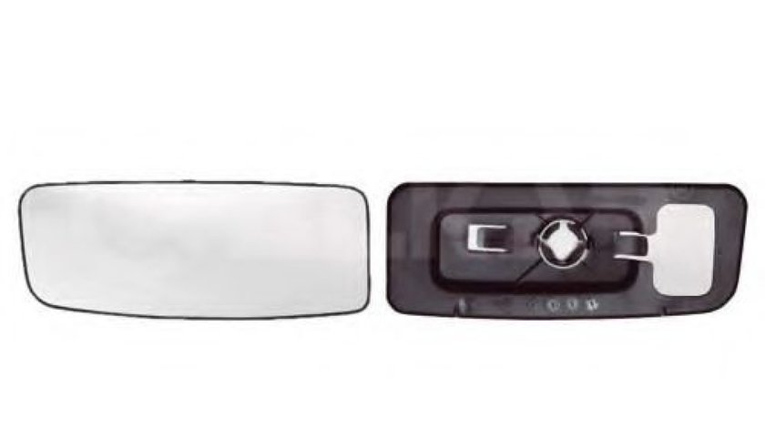 Sticla oglinda, oglinda retrovizoare exterioara MERCEDES SPRINTER 3,5-t caroserie (906) (2006 - 2016) ALKAR 6414994 piesa NOUA