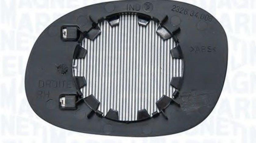 Sticla oglinda, oglinda retrovizoare exterioara CITROEN C3 I (FC) (2002 - 2016) MAGNETI MARELLI 351991304240 produs NOU