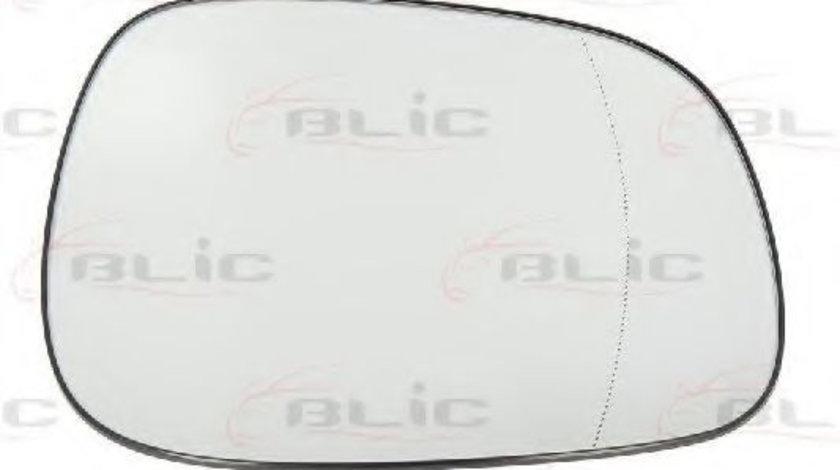 Sticla oglinda, oglinda retrovizoare exterioara BMW X1 (E84) (2009 - 2015) BLIC 6102-05-027367P piesa NOUA