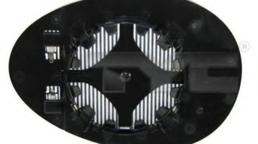 Sticla oglinda, oglinda retrovizoare exterioara MINI MINI CLUBMAN (R55) (2007 - 2015) TYC 322-0006-1 piesa NOUA
