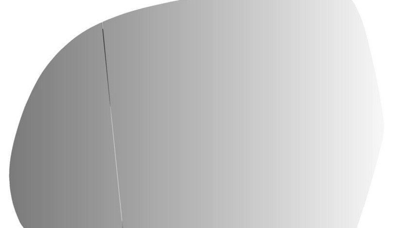 Sticla oglinda, oglinda retrovizoare exterioara AUDI Q3 (8U) (2011 - 2016) PRASCO AD0247504 piesa NOUA