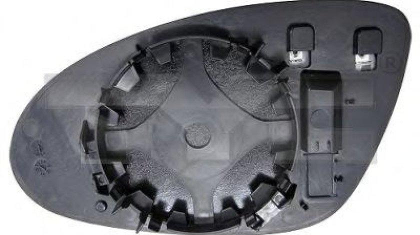 Sticla oglinda, oglinda retrovizoare exterioara MERCEDES S-CLASS (W221) (2005 - 2013) TYC 321-0111-1 produs NOU