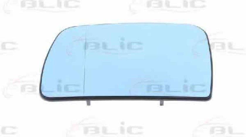 Sticla oglinda oglinda retrovizoare exterioara BMW X5 E53 Producator BLIC 6102-02-1271888P