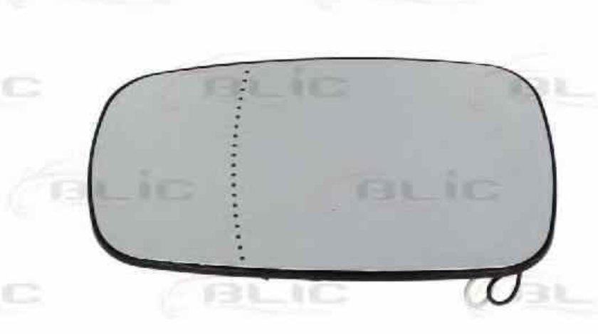 Sticla oglinda oglinda retrovizoare exterioara RENAULT MEGANE II Coupé-Cabriolet EM0/1 Producator BLIC 6102-02-1273228P