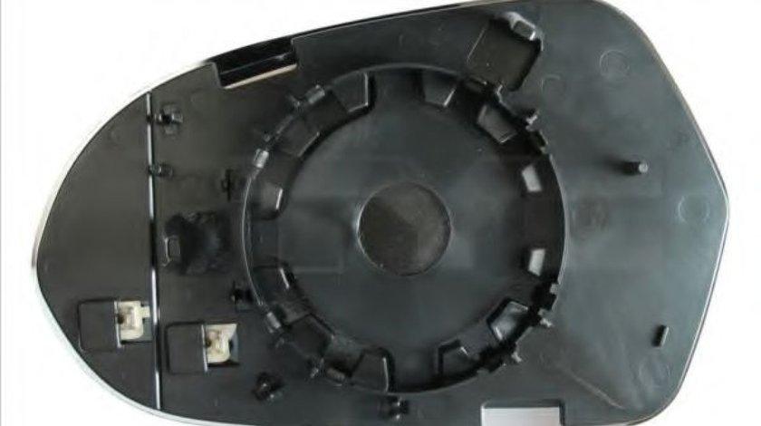 Sticla oglinda, oglinda retrovizoare exterioara AUDI A6 (4G2, C7, 4GC) (2010 - 2016) TYC 302-0104-1 produs NOU