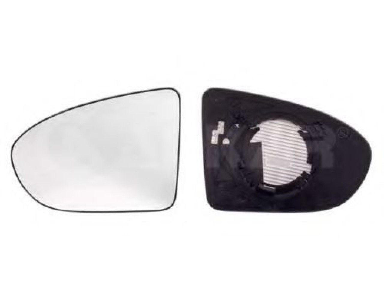 Sticla oglinda, oglinda retrovizoare exterioara NISSAN QASHQAI / QASHQAI +2 (J10, JJ10) (2007 - 2013) ALKAR 6472567 piesa NOUA