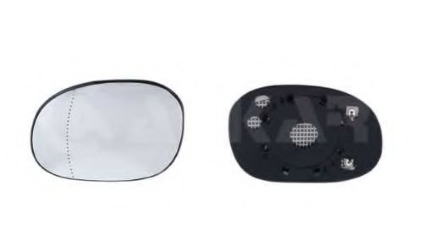 Sticla oglinda, oglinda retrovizoare exterioara PEUGEOT 206 CC (2D) (2000 - 2016) ALKAR 6471283 produs NOU