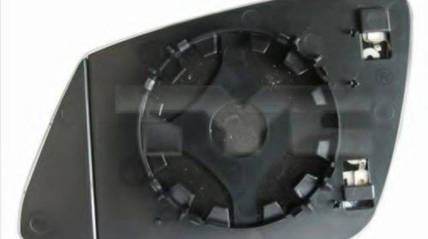Sticla oglinda, oglinda retrovizoare exterioara BMW Seria 5 (F10, F18) (2009 - 2016) TYC 303-0120-1 piesa NOUA