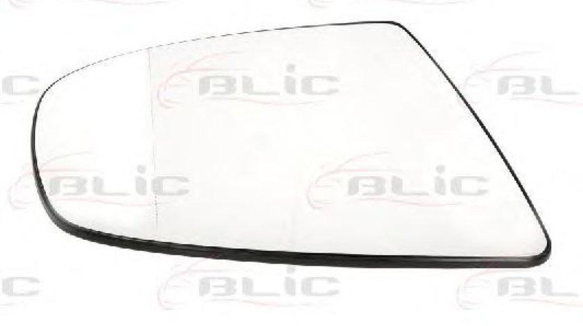 Sticla oglinda, oglinda retrovizoare exterioara BMW X5 (E70) (2007 - 2013) BLIC 6102-02-1272889P piesa NOUA