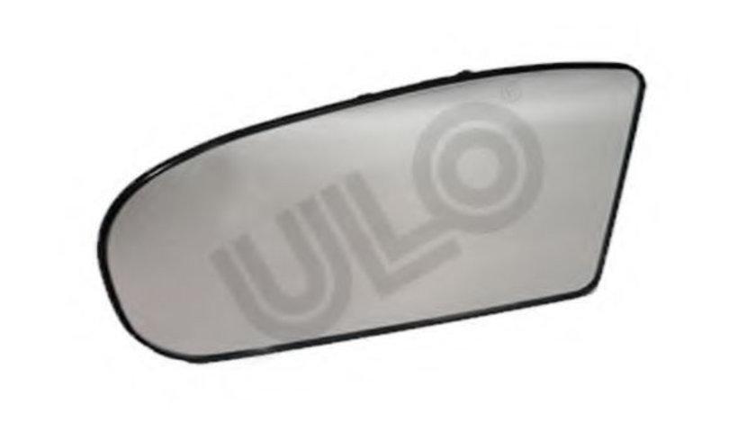Sticla oglinda, oglinda retrovizoare exterioara MERCEDES E-CLASS (W211) (2002 - 2009) ULO 3037022 piesa NOUA