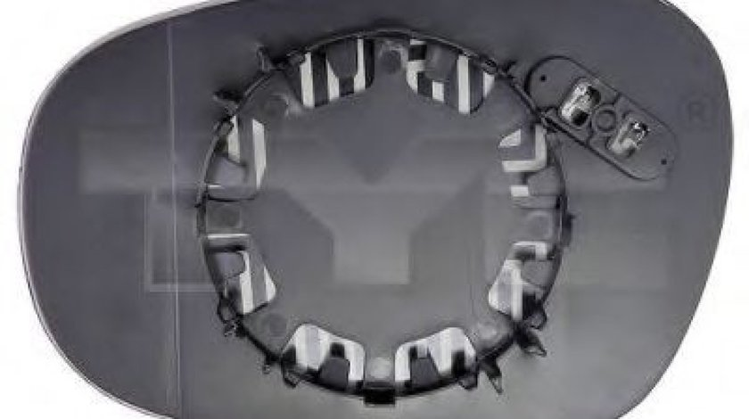 Sticla oglinda, oglinda retrovizoare exterioara BMW Seria 1 Cupe (E82) (2007 - 2013) TYC 303-0110-1 piesa NOUA