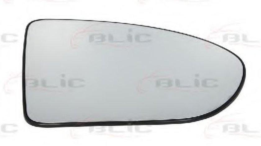 Sticla oglinda, oglinda retrovizoare exterioara NISSAN QASHQAI / QASHQAI +2 (J10, JJ10) (2007 - 2013) BLIC 6102-02-1232517P piesa NOUA